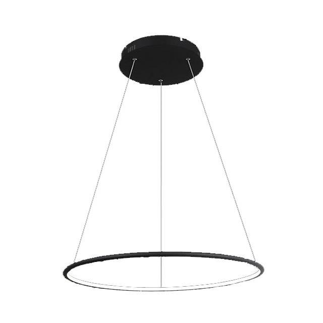 Lampa Led Saturn 48w 3000k Black Fi80cm X 120cm Wisząca świeci Do Wewnątrz 1200lm Creelamp Warszawa Bartycka 116